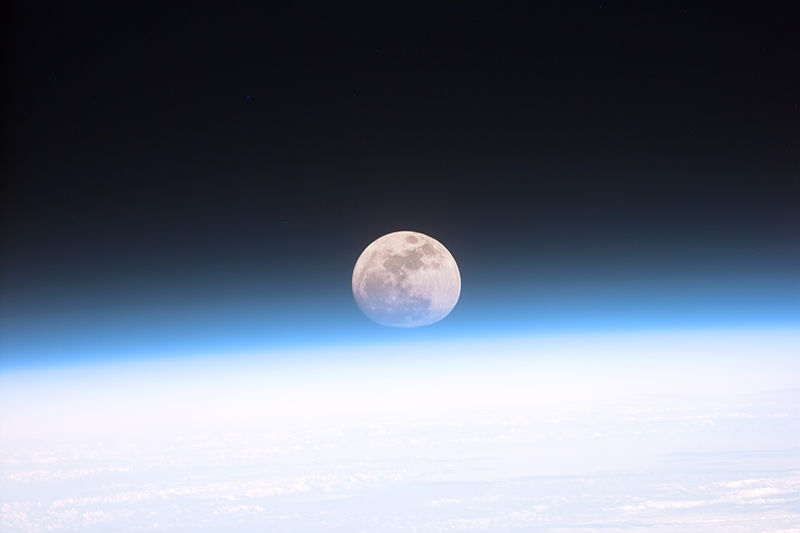 Full moon, Picture Source: NASA